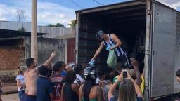 Torcidas do Leão se unem para distribuir doações em Ribeirão