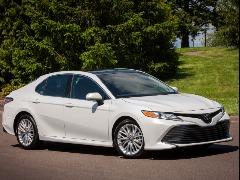 Nova versão do Toyota Camry XLE (foto: Divulgação) - Foto: Divulgação