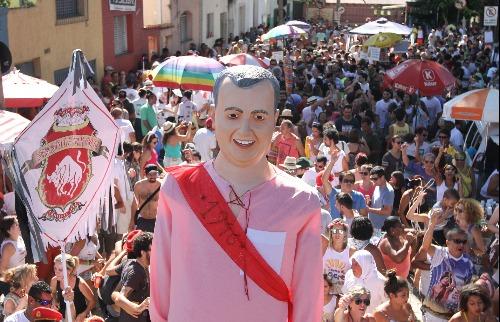 Tradicional bloco de Carnaval Nem Sangue Nem Areia, da Vila Industrial. (Foto: Divulgação) - Foto: Divulgação