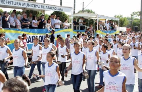 Da reportagem - Tradicional Desfile em comemoração ao aniversário da cidade será no dia 22 de agosto, às 9 horas
