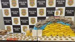 Polícia Civil apreende 16 kg de drogas em Ribeirão Preto