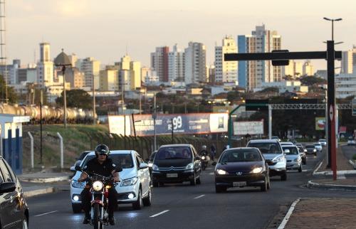 Da reportagem - Trânsito (Foto: Amanda Rocha)