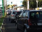 Obras na Via Expressa deixa trânsito lento nesta quinta-feira