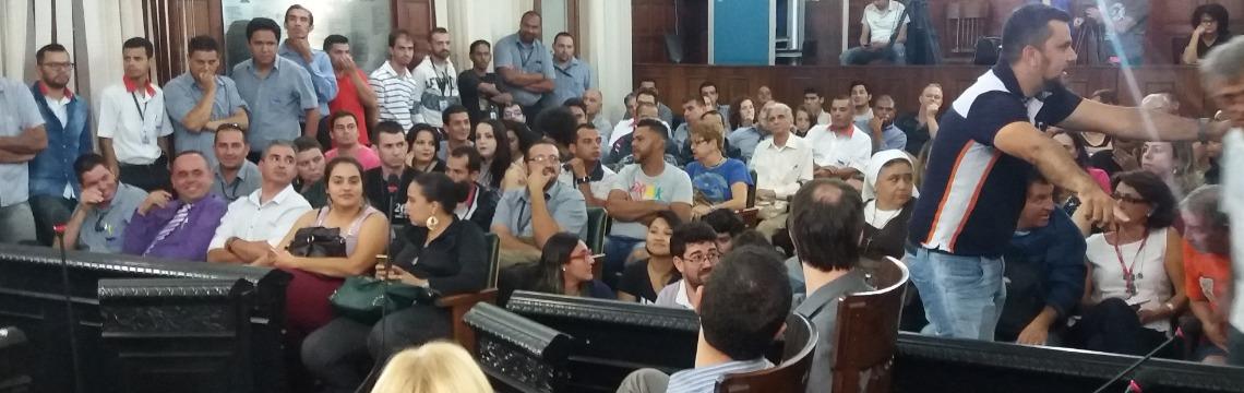 Audiência pública sobre o transporte público municipal - Foto: ACidade ON - São Carlos