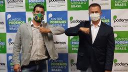 Na reserva, Prado se filia no Podemos e pode ser vice de Lapena