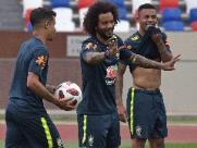 Tite confirma Fernandinho e Marcelo em jogo contra Bélgica