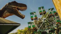 Parque dos Dinossauros faz promoção para férias de janeiro
