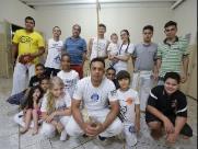 Capoeira em favor da comunidade ribeirão-pretana