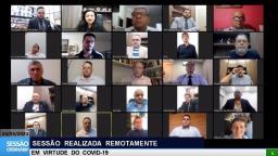 Com sessão remota, Câmara ouve secretário sobre doações em Ribeirão