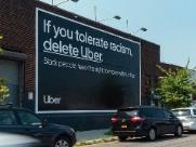 """""""Se você tolera o racismo, delete o Uber"""""""