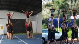 CAASO x Federal: equipes de cheerleading se preparam para a Tusca