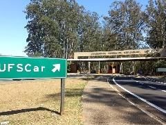 Ufscar em São Carlos (Foto: G1 Araraquara/SãoCarlos) - Foto: Da reportagem