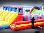 Campinas terá cidade de brinquedões infláveis em shopping