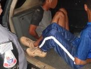 Baep prende dupla que roubou carro no Jardim Planalto