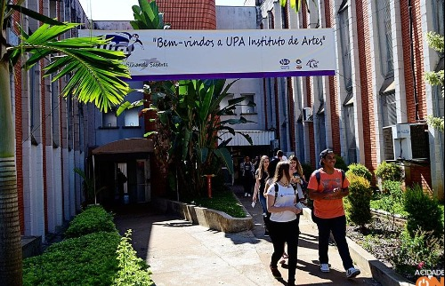 Estudantes caminham pela Unicamp durante a UPA - Foto: ACidade ON
