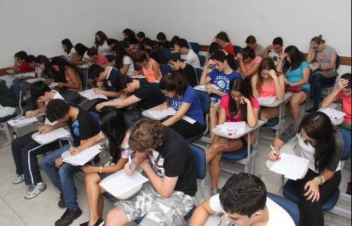 Estudantes durante atividade didática da Unità Faculdade - Foto: Donizete Muller/Unità Faculdade