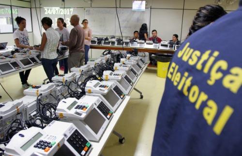 Urnas eleitorais. (Foto: Código 19) - Foto: Código 19
