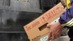 Eleições 2020: urnas eletrônicas são levadas para locais de votação