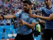 Uruguai vence, se classifica e leva a Rússia às oitavas