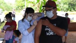 Prefeitura inicia vacinação contra a gripe nos assentamentos