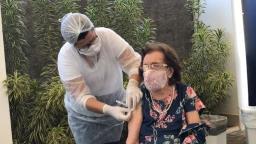 Estado começa a vacinar idosos de 80 a 84 anos em 1º de março