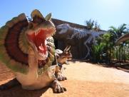 Cidade da região monta parque turístico Vale dos Dinossauros