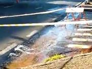 Rede rompe e deixa dois bairros sem água em Campinas