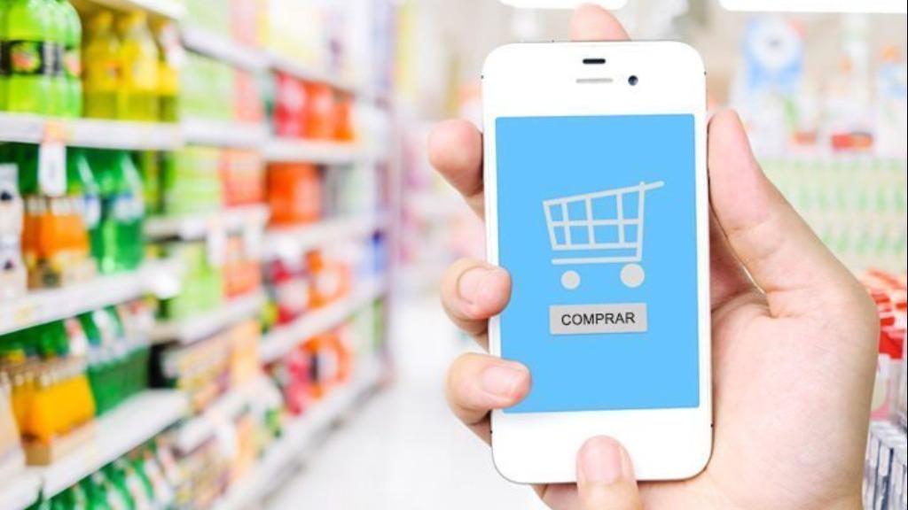 Vendas online de supermercados crescem 81%, diz Apas. Foto: imagem ilustrativa - Foto: ACidade ON - São Carlos