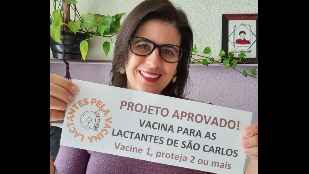 Vereadora Raquel Auxiliadora (PT) comemorou aprovação do projeto. Foto: Redes sociais - Foto: Divulgação