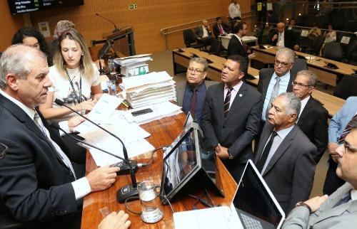 Vereadores durante sessão (Foto: Divulgação) - Foto: Divulgação