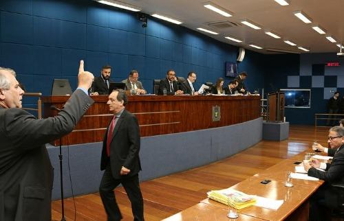 Divulgação - Vereadores reunidos na Câmara de Campinas