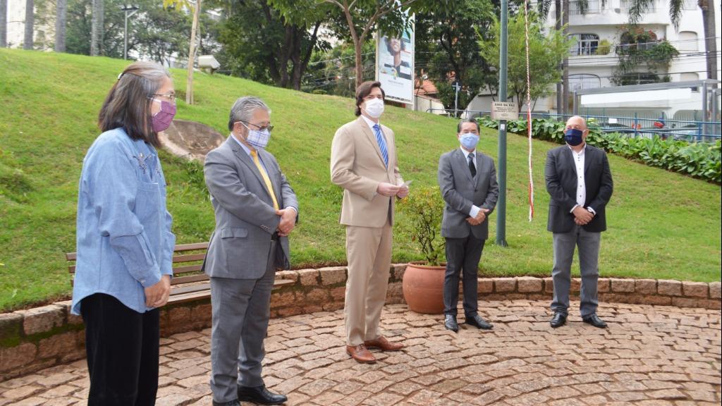 Vice-prefeito de Campinas, Henrique Magalhães Teixeira, representou o prefeito Jonas Donizette  (Foto: Divulgação) - Foto: (Foto: Divulgação)