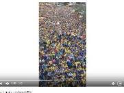 Vídeo de Bolsonaro em Natal foi feito na Copa em Campinas