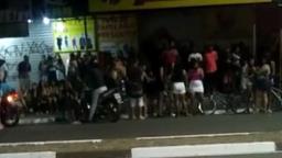 Vídeo mostra aglomeração em frente a bar em Hortolândia