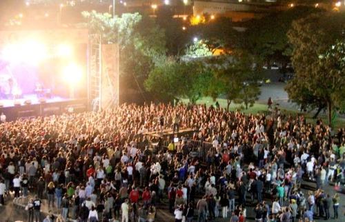 Da reportagem - Virada Cultural em Araraquara