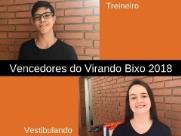 Veja quem são os vencedores do Virando Bixo 2018