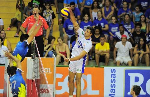 (Foto: Divulgação) - Vissotto terminou a fase inicial da Superliga como líder na pontuação. (Foto: Divulgação)