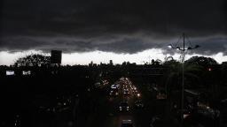 Defesa Civil Estadual emite alerta de chuva forte com raios