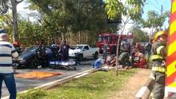 Jovem fica em estado grave após acidente em Sousas