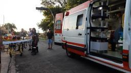 Casal fica gravemente ferido em acidente de moto no Pinheiros