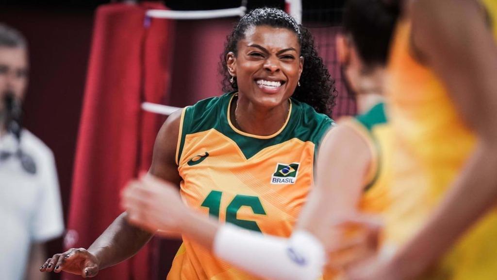 Com excelente atuação de Fernanda Garay, Seleção feminina de Vôlei vence República Dominicana (Foto: Volleyball World) - Foto: Volleyball World