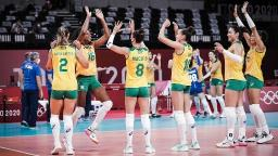 Dominante, Seleção Brasileira vence Coreia do Sul na estreia do Vôlei feminino