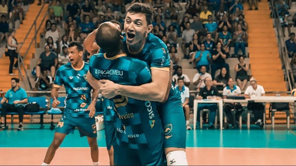 Vôlei Ribeirão venceu mais uma na Superliga (Foto: Vôlei Ribeirão) - Foto: Agências