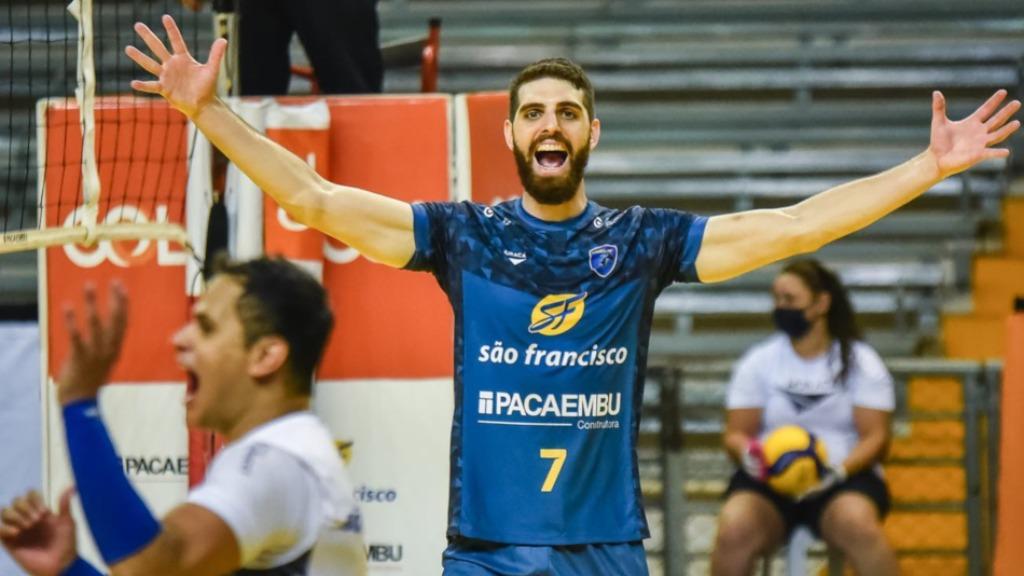 Na noite desta quarta (27), a equipe de Ribeirão Preto alcançou a primeira vitória na Superliga 2020/2021 (Foto: Divulgação / Redes sociais) - Foto: Redes Sociais