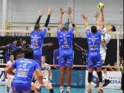 Vôlei Ribeirão perde terceira partida seguida no Campeonato Paulista