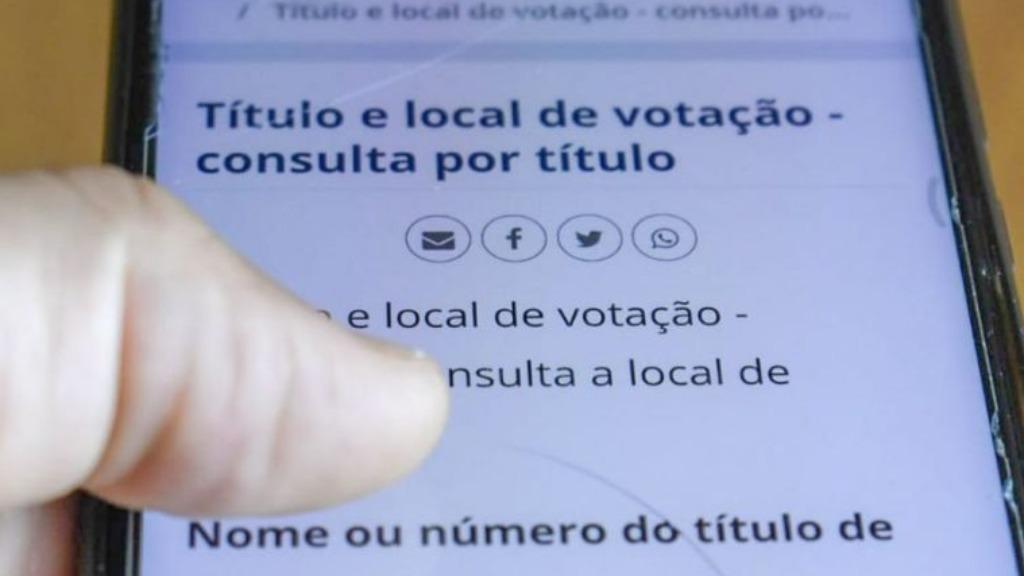 Veja como consultar seu local de votação (Foto: Reprodução) - Foto: ACidade ON - Araraquara