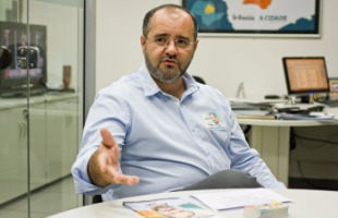Weber Sian / A Cidade - Wagner Rodrigues é candidato a prefeito de Ribeirão Preto (foto: Weber Sian / A Cidade)