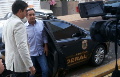 Walter Gomes foi preso pela Polícia Federal - Foto: Lucinho Mendes