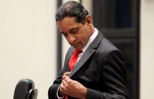 O vereador afastado  Walter Gomes: agora, preso em Tremembé - Foto: Matheus Urenha / A Cidade