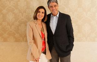 TV GLOBO / Alex Carvalho  - William Bonner e Fátima Bernardes anunciaram separação após 26 anos de casamento